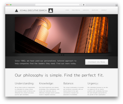 Method WordPress template for business - schallsearch.com
