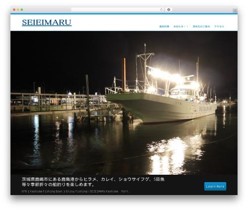 Selfie WP theme - seieimaru.net