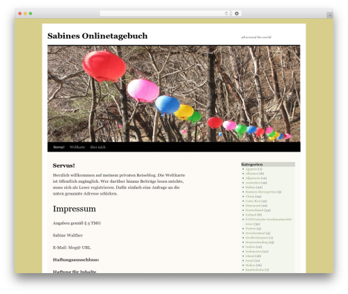Twenty Ten WordPress theme free download - sabinewalther.de
