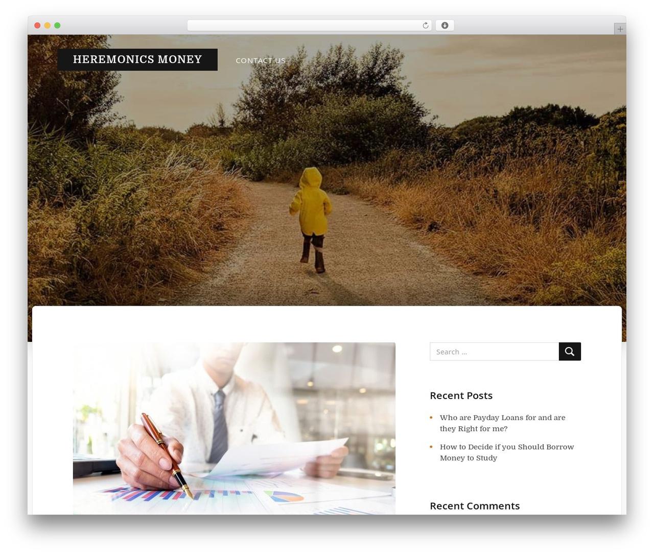WordPress template Typit - hegemonics.co.uk