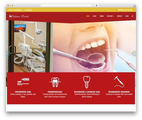 Free WordPress Companion Sitemap Generator plugin - salmandental.com
