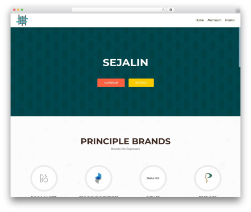 WordPress theme OnePirate - sejalin.com