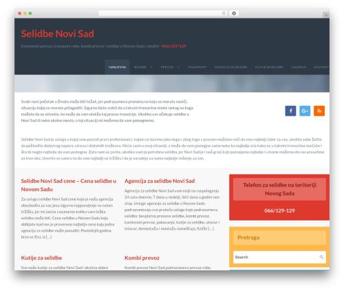 WordPress theme Vermilion - selidbenovisad.com