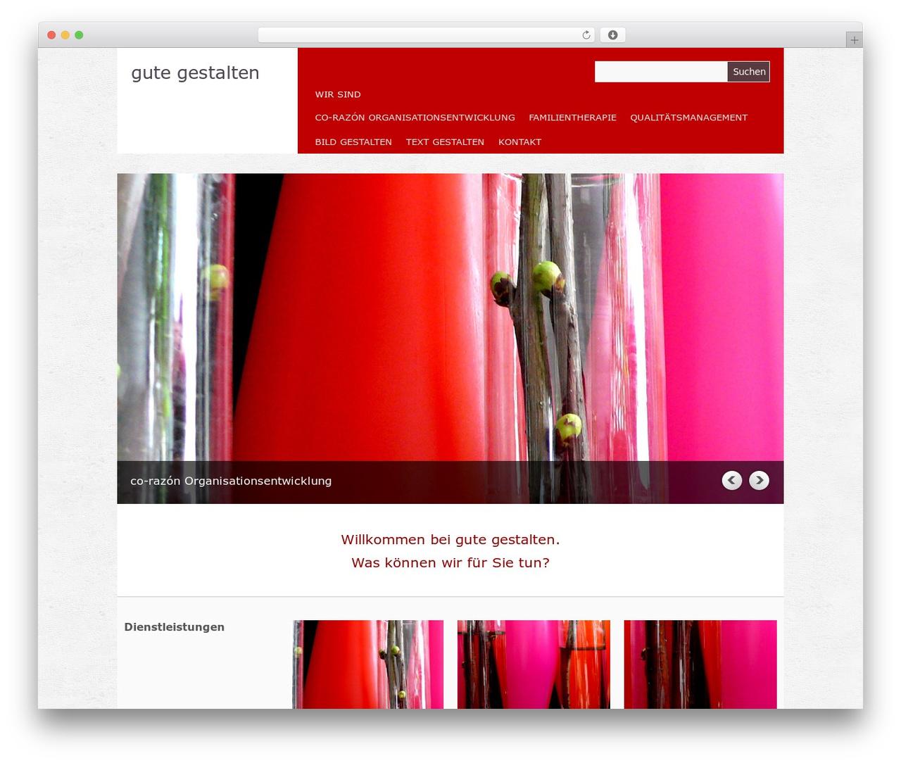 WordPress theme Yasmin - saltovivo.de
