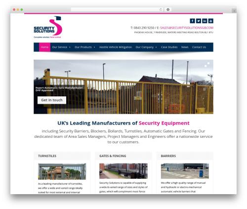 Biscaya top WordPress theme - securitysolutionsgb.com/new