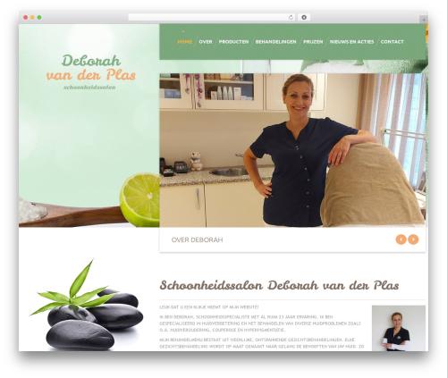 cherry WordPress theme - salonvanderplas.nl