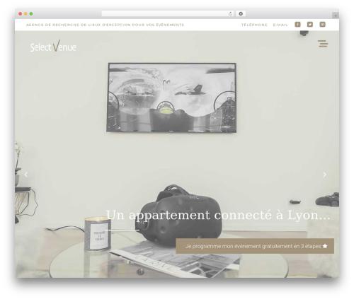 Evently top WordPress theme - selectvenue.fr