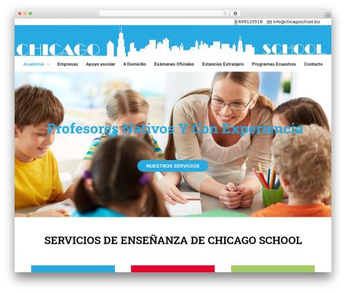 GeneratePress free WordPress theme - chicagoschool.biz