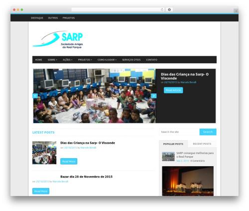 NewsMag by MyThemeShop WordPress ecommerce template - sarprealparque.org.br