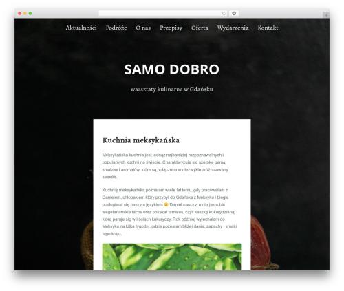 Padhang best WordPress theme - samodobro.com