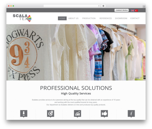 PressCore premium WordPress theme - scalatex.com