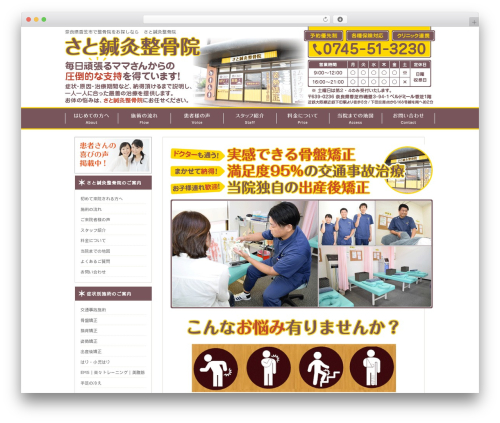 Template WordPress hp-site - sato-58.com