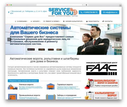 WordPress theme The7 - service4you.ru