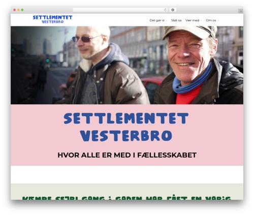 Allegiant Pro WordPress theme - settlementet.dk