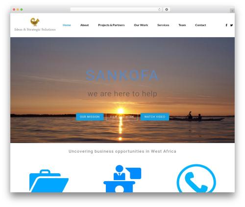 Theme WordPress WSS - sankofa.biz