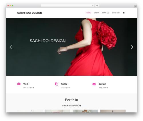Total template WordPress free - sachidoi.com