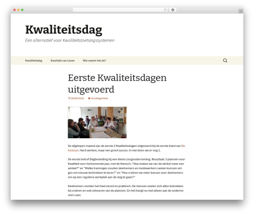 Twenty Thirteen theme WordPress free - kwaliteitsdag.nl
