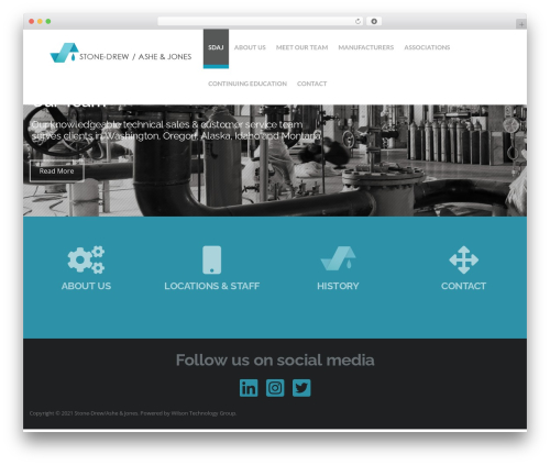 Hercules WordPress theme - sdajnw.com
