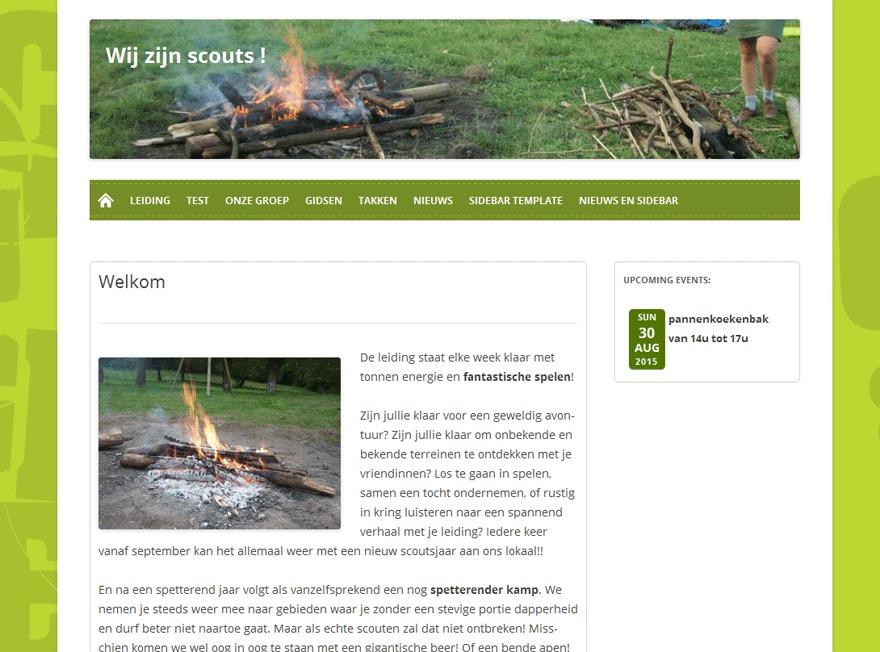 Scoutnet v2 best WordPress theme