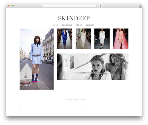 Theme WordPress Bridge - skindeep.se