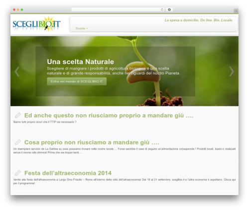 Best WordPress template Customizr - sceglibio.it/blog