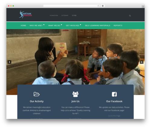 WordPress rescue-portfolio-master plugin - sarthakshiksha.org