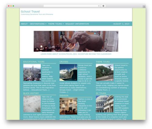 Genesis WP template - schooltravel.org