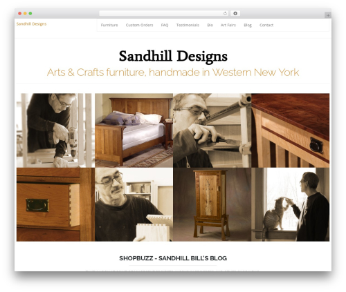 Hercules premium WordPress theme - sandhilldesigns.com