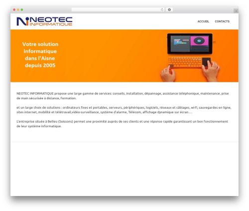 Poseidon WordPress video template - neotec-info.fr