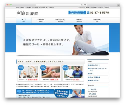 responsive_041 WordPress theme design - sanki-chiryou.com