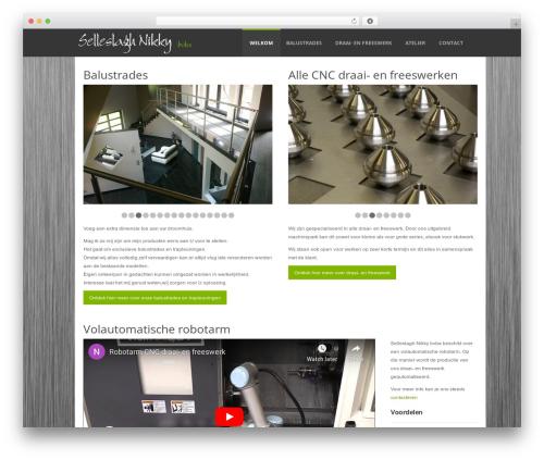 Sensation Responsive WordPress Theme WordPress theme - selleslagh-nikky.be
