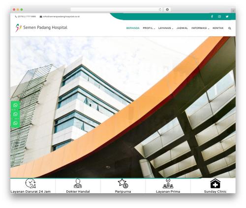 Theme WordPress Ultra - semenpadanghospital.co.id