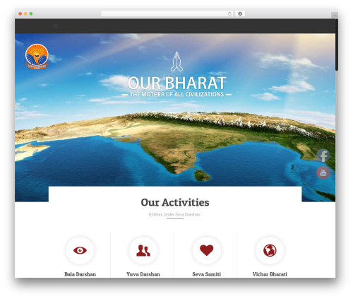 WordPress template Betheme - sevadarshan.com