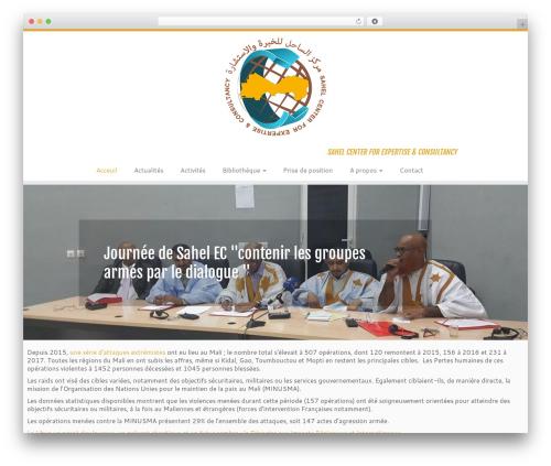 Customizr free WordPress theme - sahel-ec.org