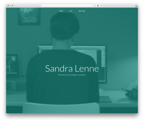GeneratePress WordPress website template - sandralenne.se