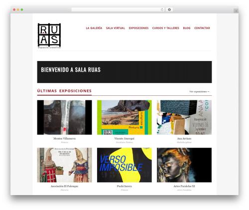 WordPress theme Vimes - salaruas.com