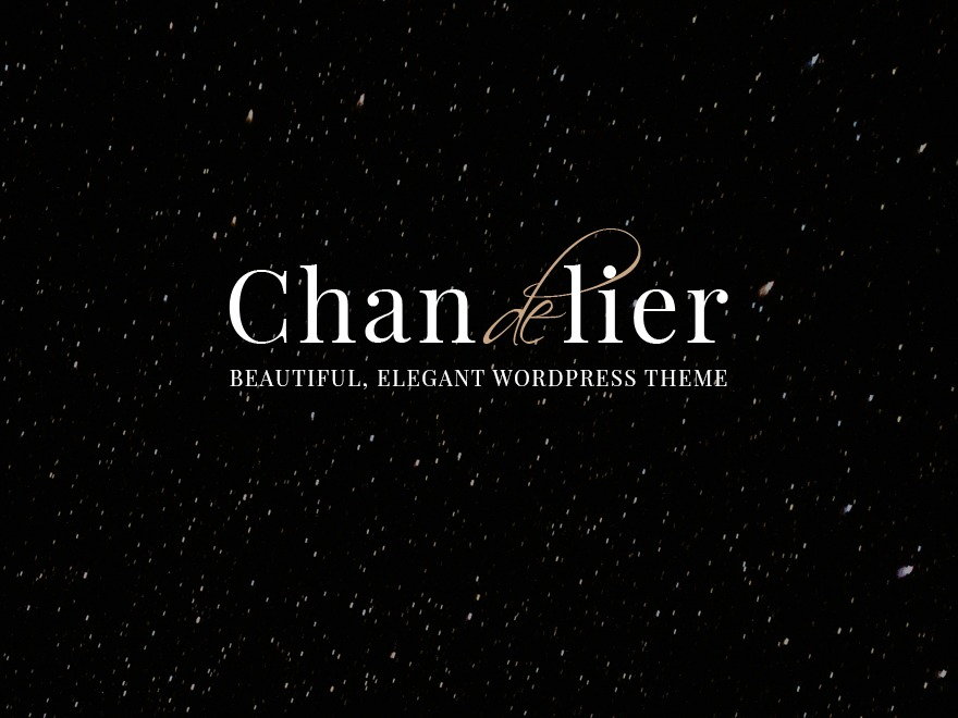 Best WordPress theme Chandelier