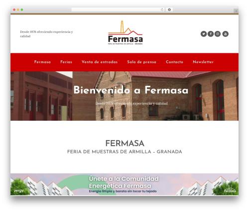 Bridge WordPress template - fermasa.org