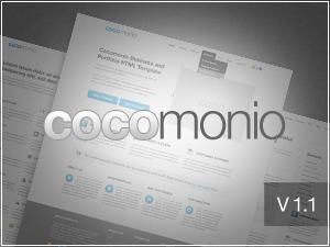 Cocomonio business WordPress theme
