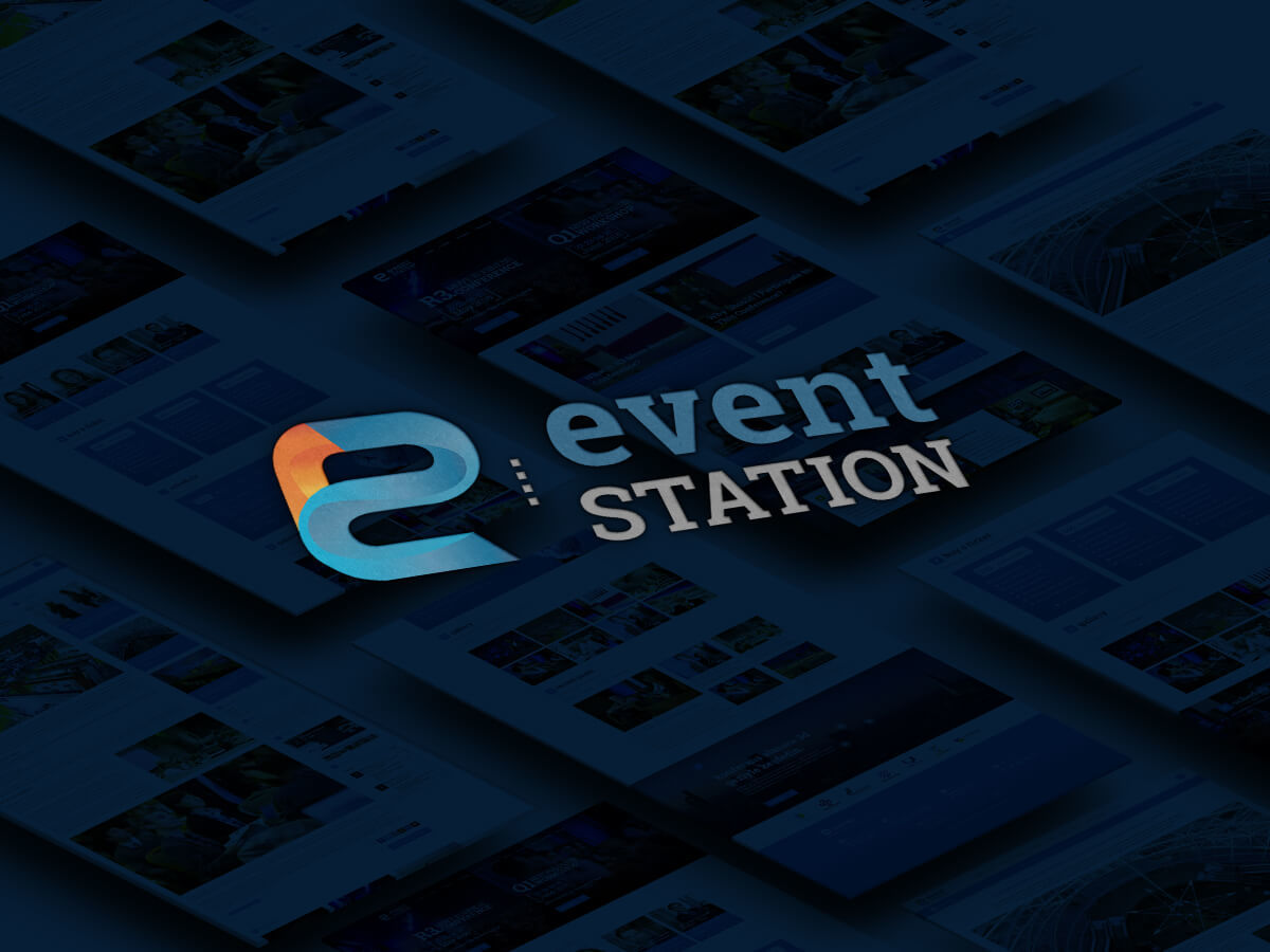 Eventstation WordPress theme design