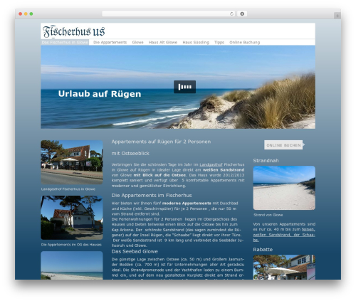 Free WordPress Hyphenator plugin - fischerhus-ruegen.de