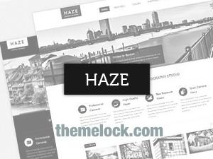 Haze (shared on themelock.com) WordPress theme image