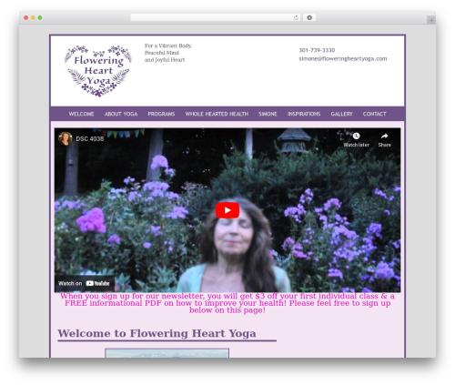 Free WordPress MailChimp for WordPress plugin - floweringheartyoga.com