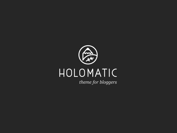 holomatic WordPress blog template