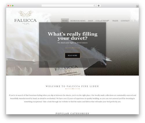 Hugo WordPress website template - faluccalinen.co.za