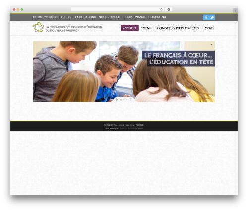 iceMag Theme premium WordPress theme - fcenb.ca