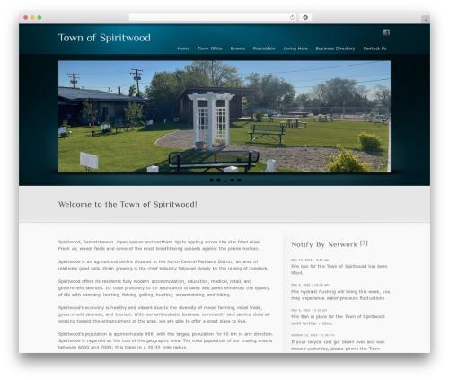 inFocus WordPress theme - townofspiritwood.ca