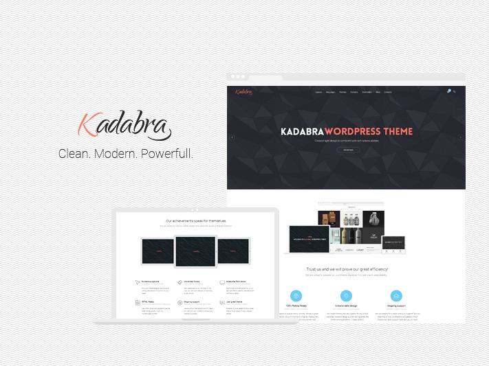 Kadabra WordPress theme