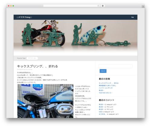 Meeta WordPress blog template - tadayuki-i.com