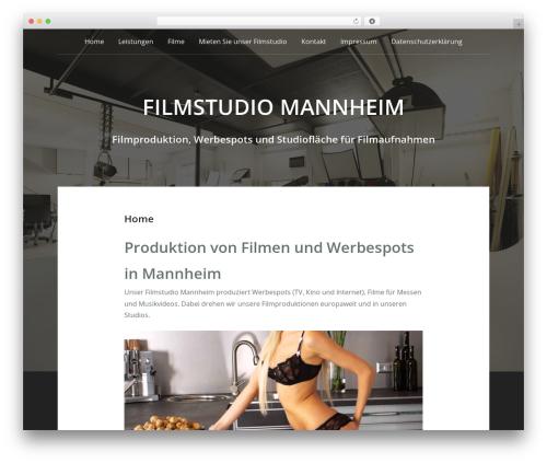 Padhang WordPress theme - filmstudio-mannheim.de